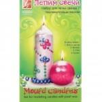 Набор свечей  с перламутром