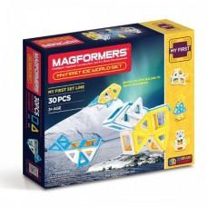 Купить Магформерс 30 - идеальный набор для знакомства с конструктором! Изучение цветов, форм, конструирование предметов - все доступно с ним!