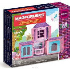 Магформерс Mini House Set - домик своими руками!