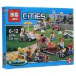 Праздник в парке - жители LEGO CITY