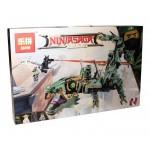 Механический дракон Зеленого ниндзя