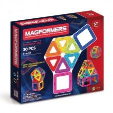 Магформерс 30 - идеальный набор для знакомства с конструктором! Изучение цветов, форм, конструирование предметов - все доступно с ним!