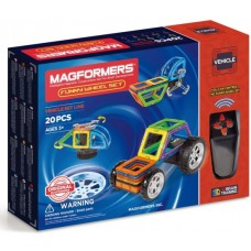 Магформерс Веселые Колеса - настоящая находка для юных механиков и инженеров.