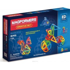 Magformers Creative 90. Новый набор для настоящих любителей Макформерс.