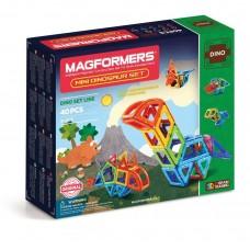 Magformers  Dino Set 40  - динозавры живут в Магформерс! Собери своего диника!