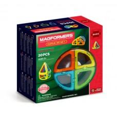 MAGFORMERS Curve 20 set - закругленные формы дополнят Ваш  Магформерс.