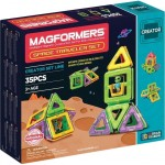 MAGFORMERS Space Traveler Set